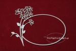 Daffodil frame - Żonkil ramka 02
