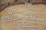 First Holy Communion 01 5 pcs  - zestaw  5 szt ENG