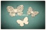 Motylki ażurowe 03 zestaw