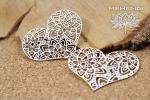 Mehendi - Lace hearts - koronkowe serca
