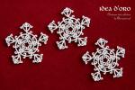 Śnieżki - Idea d'oro - Snowflakes