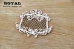 Royal mały dekor z rameczką / small frame