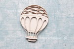Latający balon z siatką