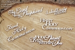First Holy Communion set of words - zestaw ENG