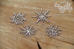Mon MERRY cheri - snowflakes - snieżki