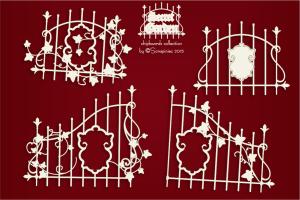 Secret Garden - Ivy fence - Płot z bluszczem