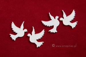 Gołębie małe/ little pigeons 4 szt