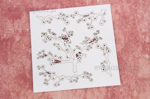 Apple- tree branch II - Kwitnąca jabłonka II -gałązki