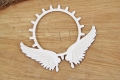 Steampunk - Flying hearts - gear in wings