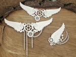 Steampunk - Flying hearts - Big chained wings - duże skrzydła w łańcuchach