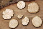 Magic Fall - Wooden chips (plywood) - sklejka
