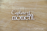 Capture the moment napis