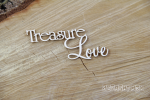 Treasure Love napis