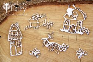 Blueberry Fairy - elements - elementy