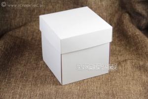 Exploding box - white 500 g/ pudełko eksplodujące